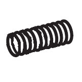 Clutch Pin Spring, Janome #650066007