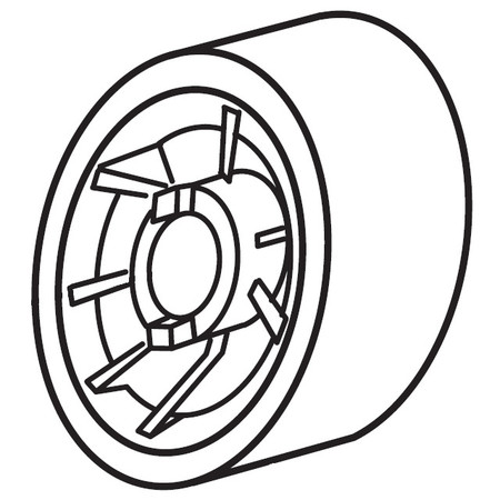 Handwheel, White #673211