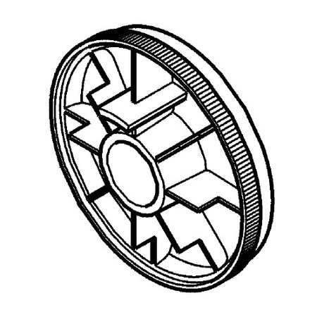 Handwheel, Singer #76748