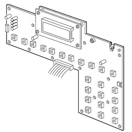 Printed Circuit Board (K), Janome #841607004