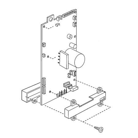 Circuit Board (A), Janome, Necchi #843610109