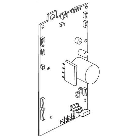 Printed Circuit Board (A), Janome #843613135