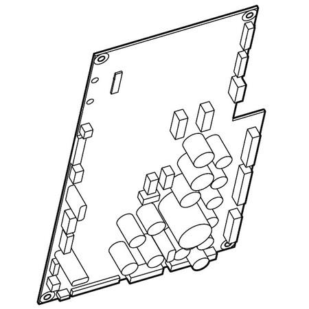 Printed Circuit Board A (Unit), Janome #862522009