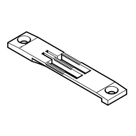 Needle Plate, Pfaff #91-150126-04
