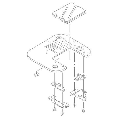 Needle Plate, Juki #A1109030ZA0
