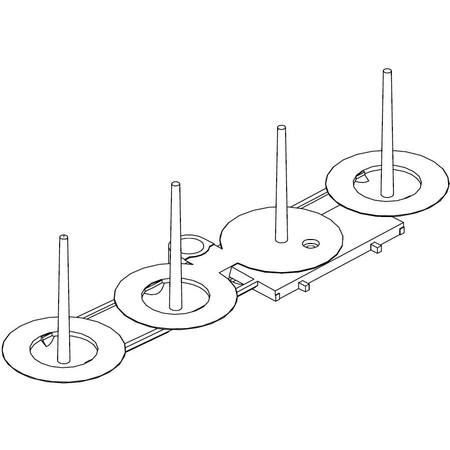 Spool Holder, Juki #A1118-776-000-B