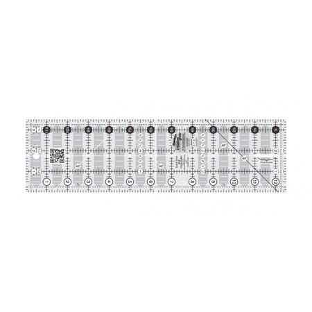 "Quick Trim Ruler 3-1/2""X12-1/2"" Rectangle, Creative Grids"