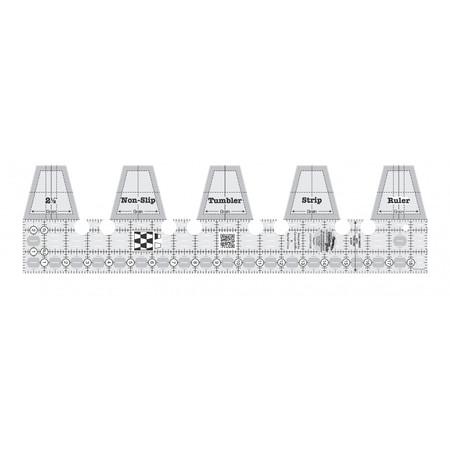 Single Strip Tumbler Ruler, Creative Grids