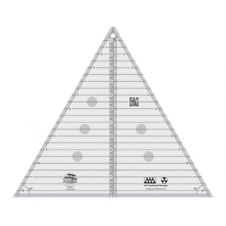 60 Degree Triangle 12-1/2in, Creative Grids