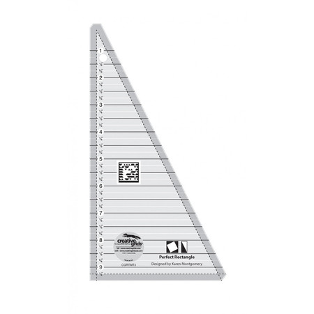 Perfect Rectangle Ruler 9-1/2in, Creative Grids