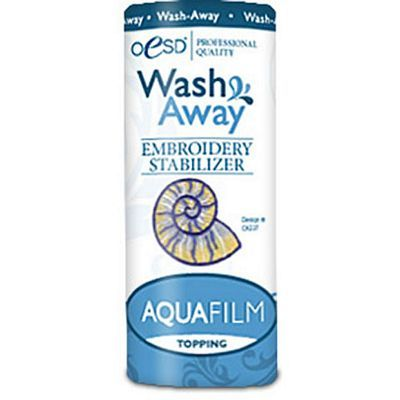 "Aquafilm Wash-Away Topping, 4""x 20yds"