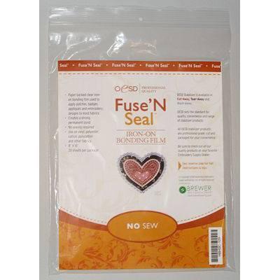 "Fuse n Seal, Cut-Away Sheets (20pk), 8""x 10"""