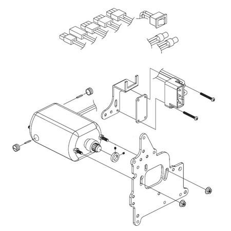 Motor Assembly, Babylock #L10DC-WEP