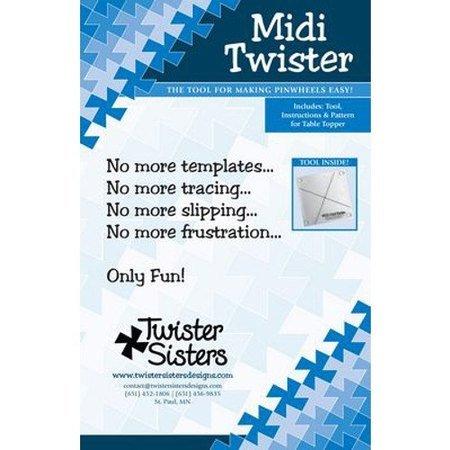 Midi Twister Pinwheel, Twister Sisters
