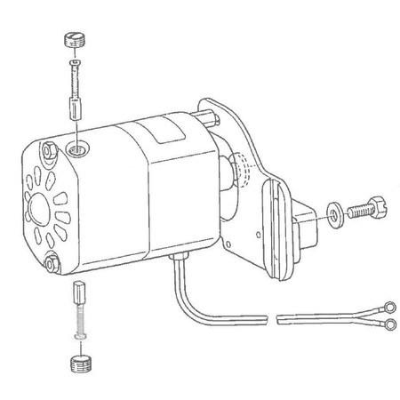 Motor, Juki #MSA-172202MO
