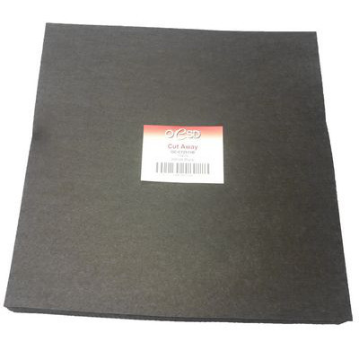 "Cut-Away Stabilizer Sheets (200pk) 15""x 15"", Black"