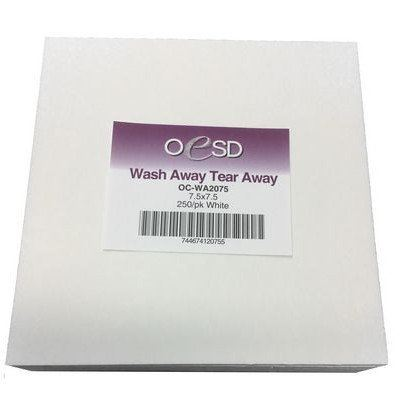 "Wash-Away / Tear-Away Sheets (250pk), 7.5""x 7.5"""