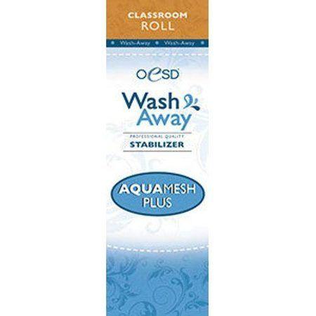 "Aquamesh Plus, Wash-Away 10""x 2 yds"