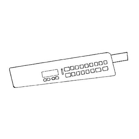 Keyboard Panel, Babylock #XA4915101