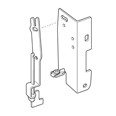 BH Lever Set Plate Assembly, Brother #XA5812021