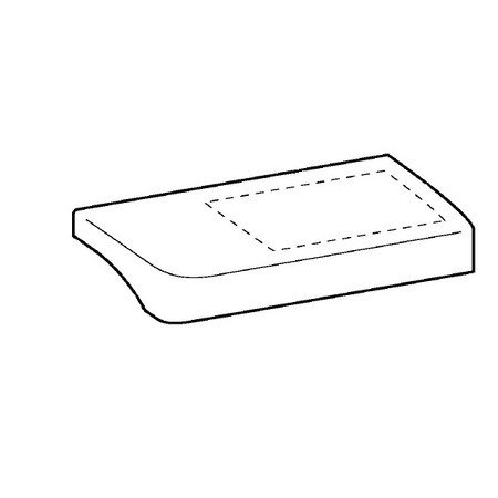 Accessory Table Cover Assembly, Brother #XD0696051