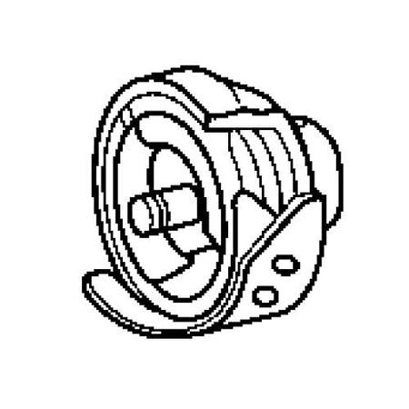 Rotary Hook Assembly, Brother #XE0162001