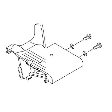 Support Bed Total Assembly, Juki #A11807350B0