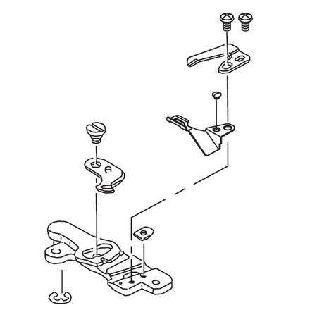 Knife Thread Guide Assembly, Juki #A18720900B0B