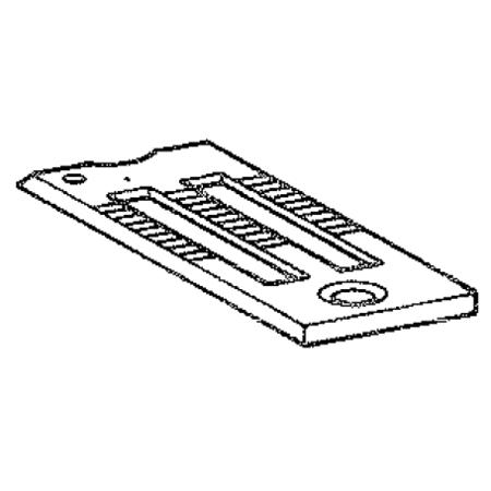 """Throat Plate 1/2"""", Juki #B1109521L00"""