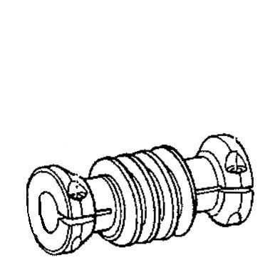 Feed Cam Driving Worm Assembly, Juki #B22059800A0