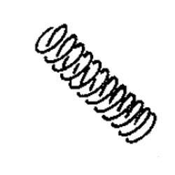 Oil Adjusting Spring, Juki B2616372000