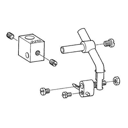 Scallop Attachment Assembly, Juki #B50012710A0
