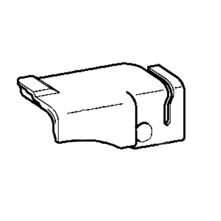 Front Thread Guard Cover, Brother #XA9872004