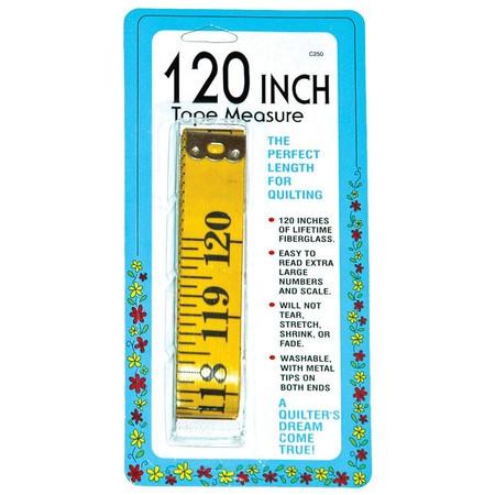 Tape Measure (120in), Collins #W-250
