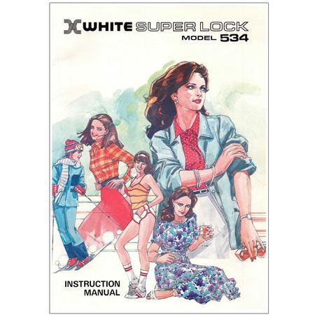 Instruction Manual, White 534 Serger