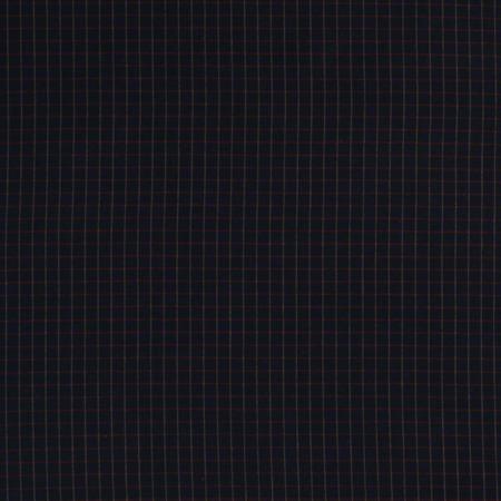 Homespun Black Checkered Fabric