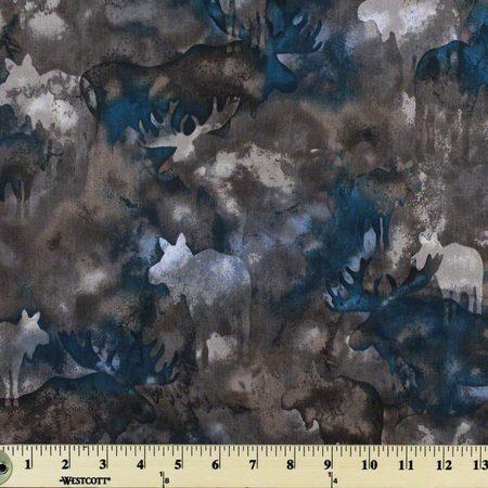Robert Kaufman, Enchanted Pines Fabric