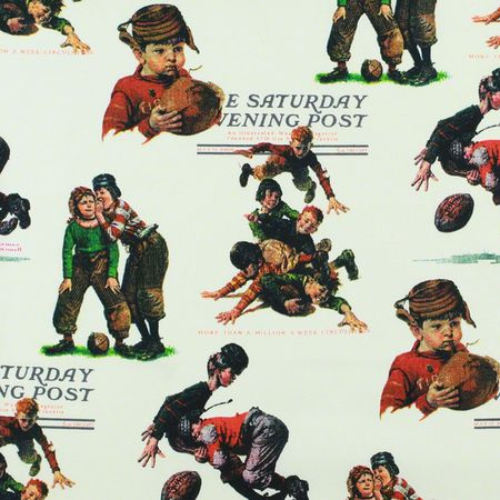 The Saturday Evening Post, Vintage Football Fabric
