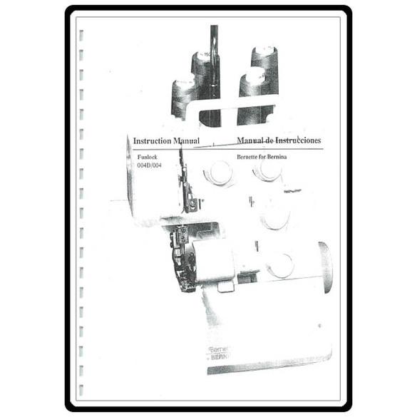 Instruction Manual, Bernette Funlock 004