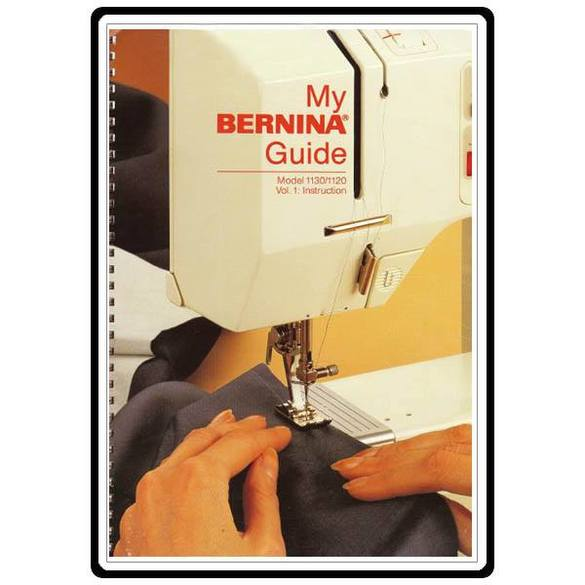 Instruction Manual, Bernina 1130