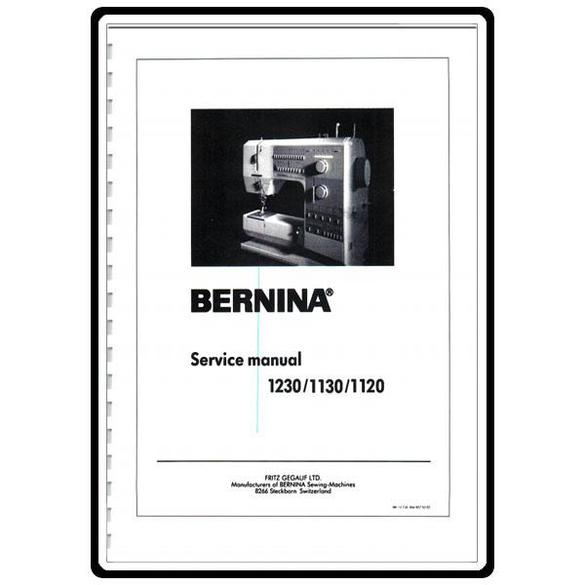 Service Manual, Bernina (Bernette) 1230