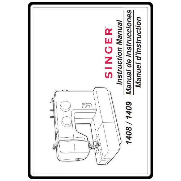 Instruction Manual, Singer 1408