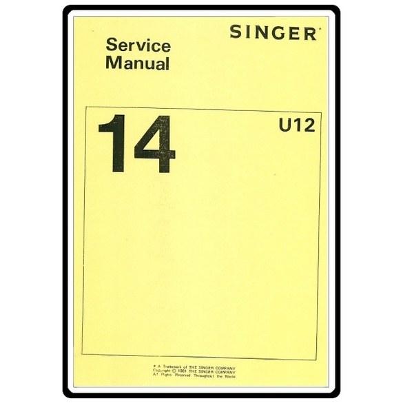 Service Manual, Singer 14U52