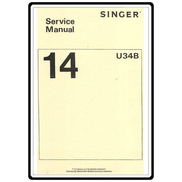 Service Manual, Singer 14U64