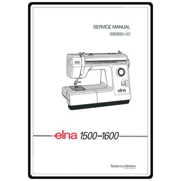 Service Manual, Elna 1500