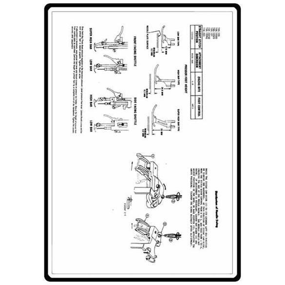 Service Manual, Kenmore 158.120