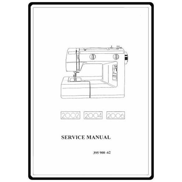 Service Manual, Elna 2002