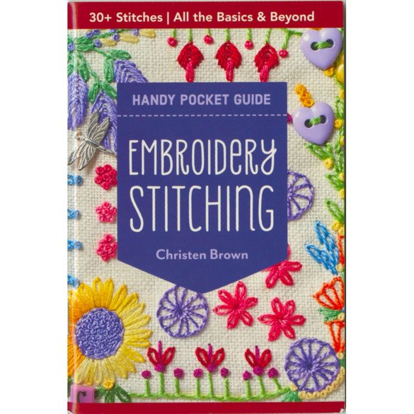 Embroidery Stitching Handy Pocket Guide Book