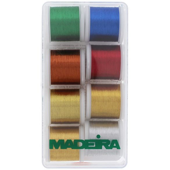 Madeira Classic Metallic 8-Spool Thread Gift Box (218yds)
