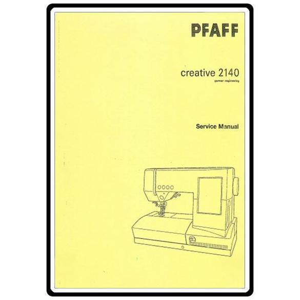 Service Manual, Pfaff 2140
